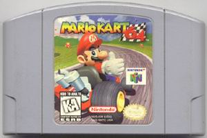 Mario Kart 64 (USA) Cart Scan